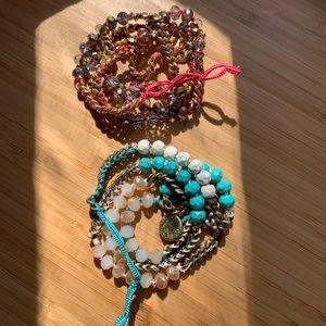 Chloe & Isabel Bead + Chain Multiwrap Bracelets